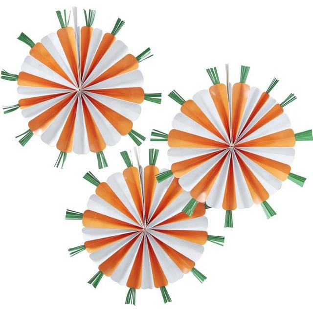 Ginger Ray Carrot Fans (EA-510)