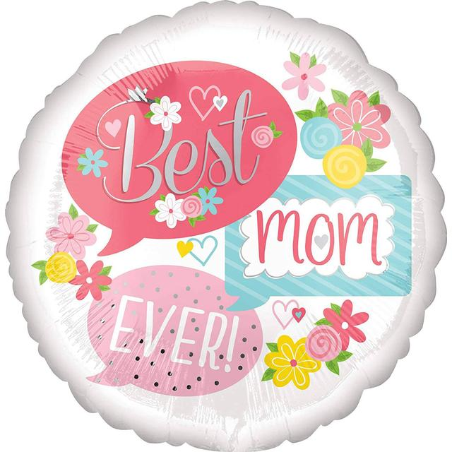 Amscan Standard Best Mom Ever Bubbles (3706101)