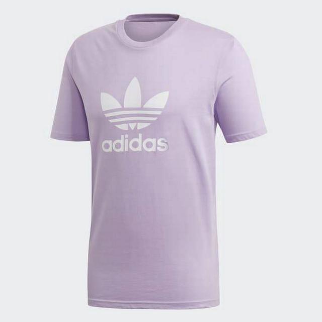Adidas Trefoil Tee - Purple Glow