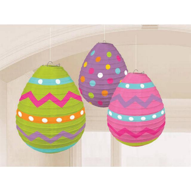 Amscan Egg Shaped 3-pack (240695)