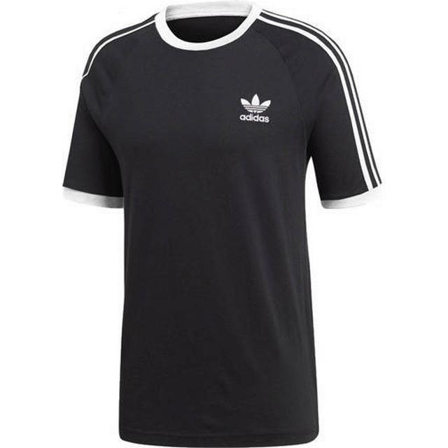 Adidas 3-Stripes T-shirt - Sort