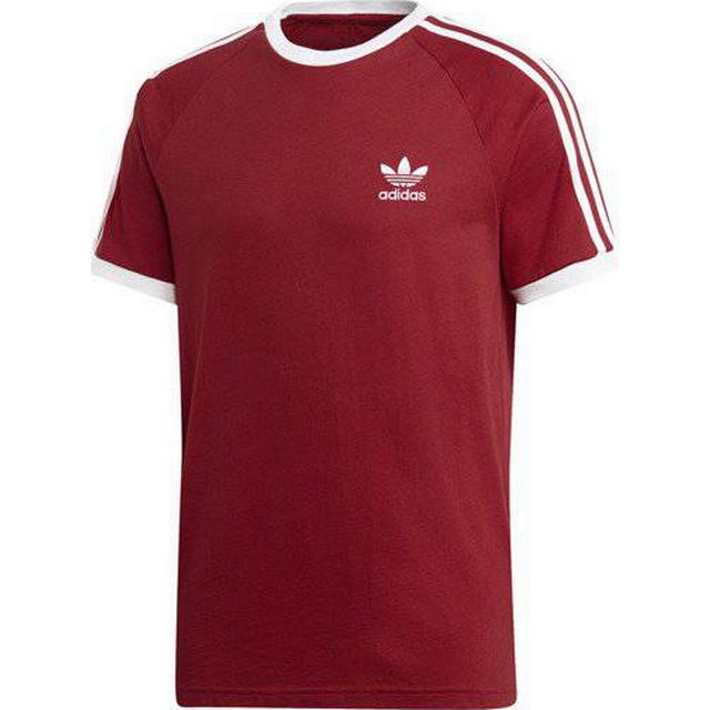 Adidas 3-Stripes T-shirt - Power Red