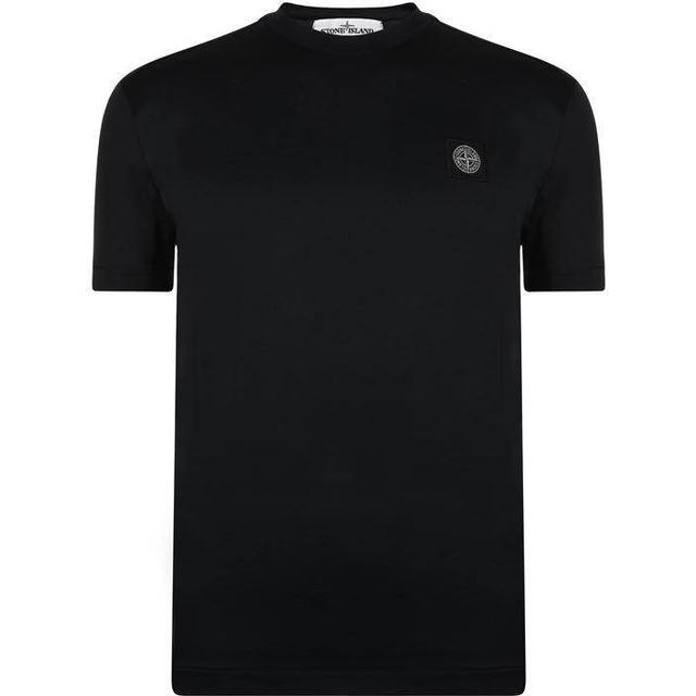 Stone Island Badge Logo T-shirt - Navy V0020