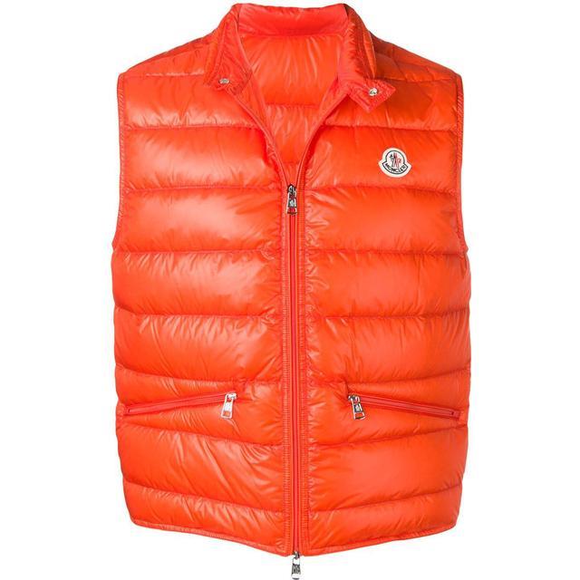 Moncler Gui Down Vest - Orange
