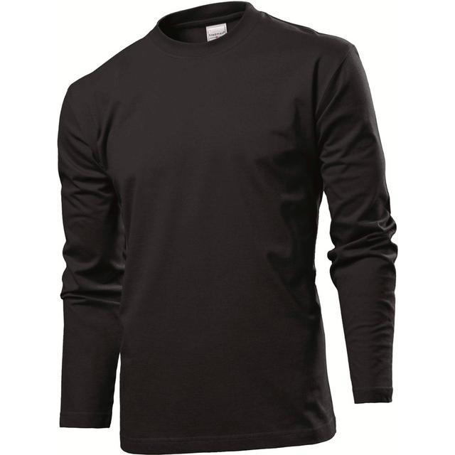 Stedman Comfort Long Sleeves T-shirt - Black Opal