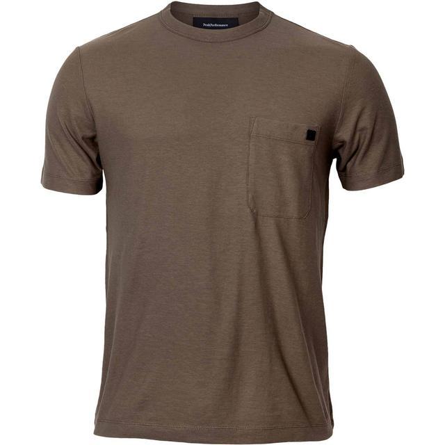 Peak Performance Army Pipe T-shirt - Terrain Green