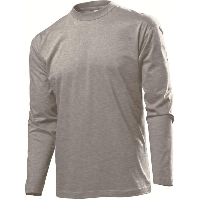 Classic Long Sleeves Grey Heather (ST2500)