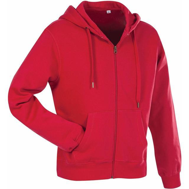 Stedman Active Sweatjacket - Crimson Red
