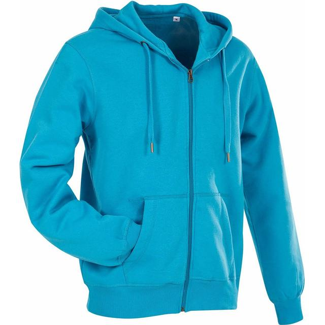 Stedman Active Sweatjacket - Hawaii Blue