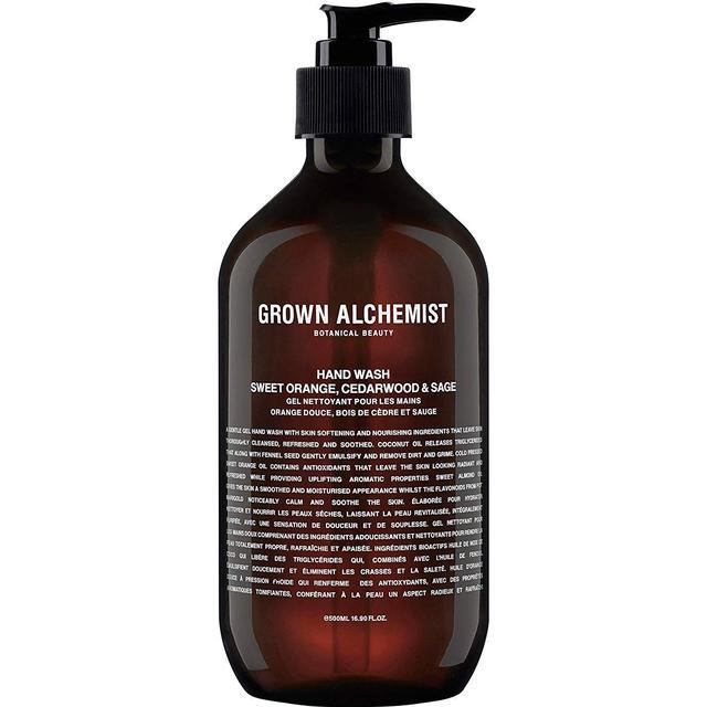Grown Alchemist Hand Wash Sweet Orange Cedarwood & Sage 500ml
