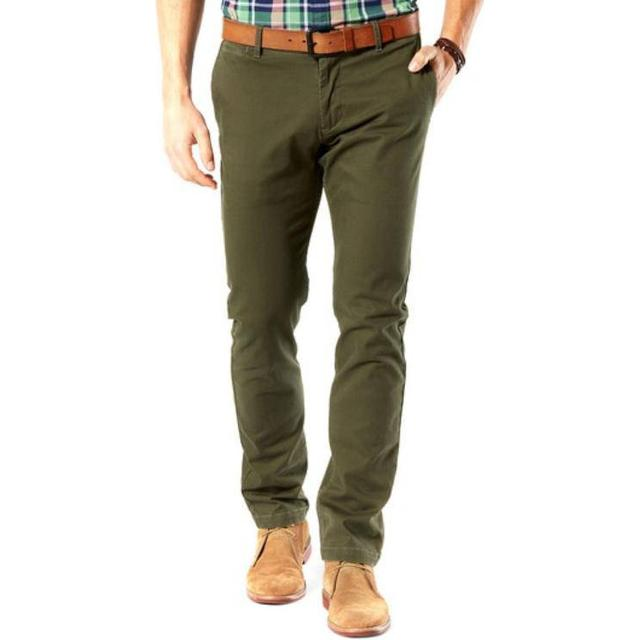 Dockers Washed Chino - Olive/Green