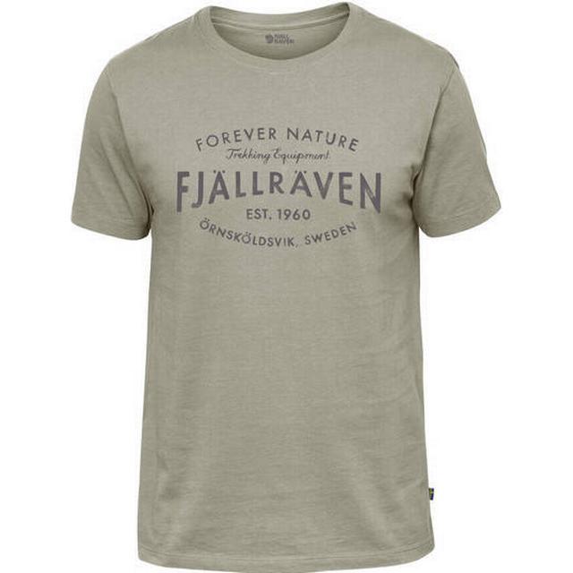 Fjällräven EST. 1960 T-shirt - Fog