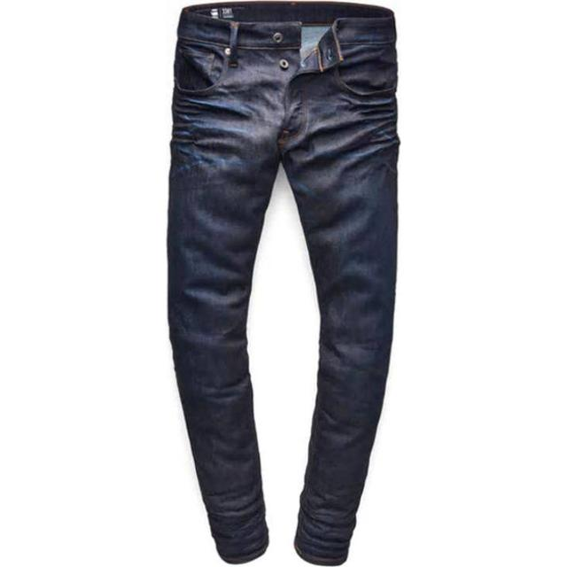 G-Star 3301 Straight Tapered Jeans - Dark Aged