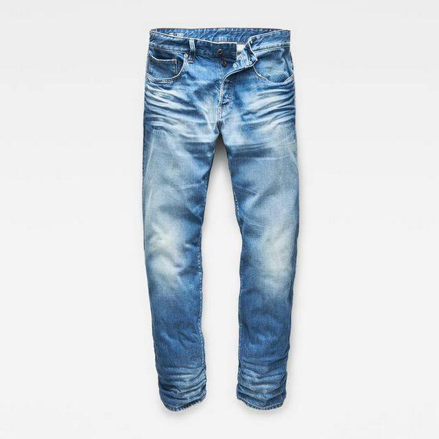G-Star 3301 Relaxed Jeans - Medium Aged