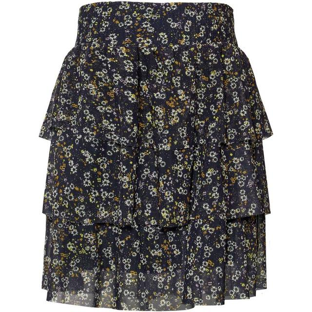 Name It Kid's Tiered Sheer Skirt - Blue/Dark Sapphire (13174771)