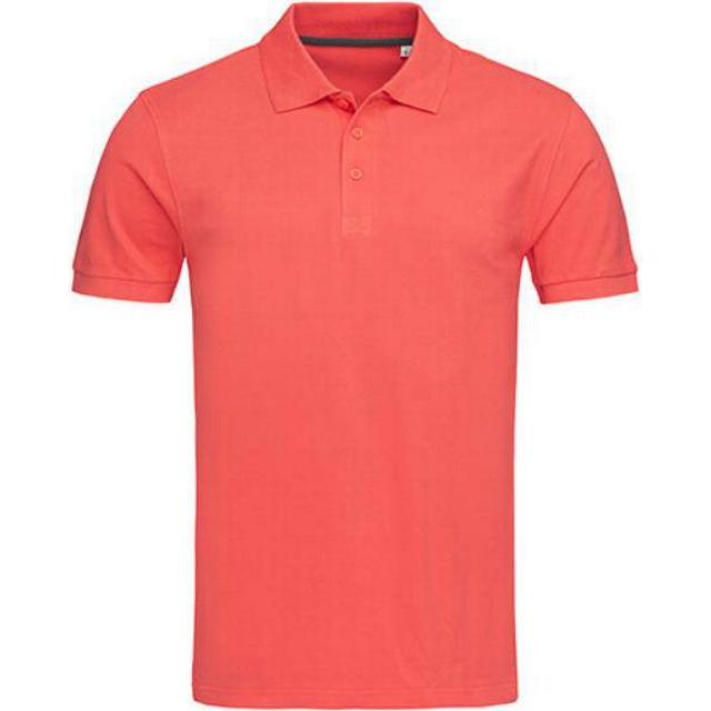 Stedman Harper Polo T-shirt - Salmon Pink