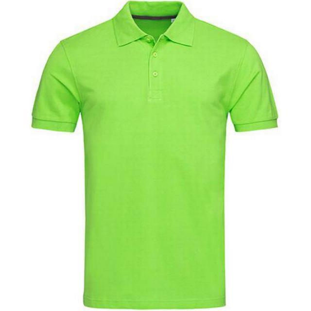 Stedman Harper Polo T-shirt - Green Flash