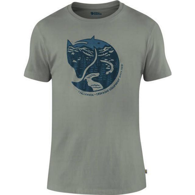 Fjällräven Arctic Fox T-shirt - Fog