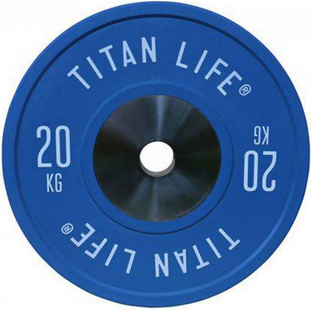 Titan Life Elite Bumper Plate 20kg