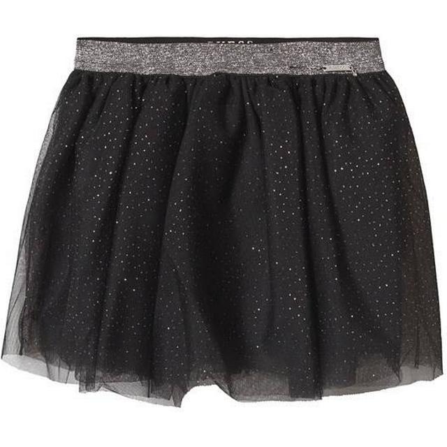 Guess Glitter Look Tulle Skirt Black ( K91D12K84O0)