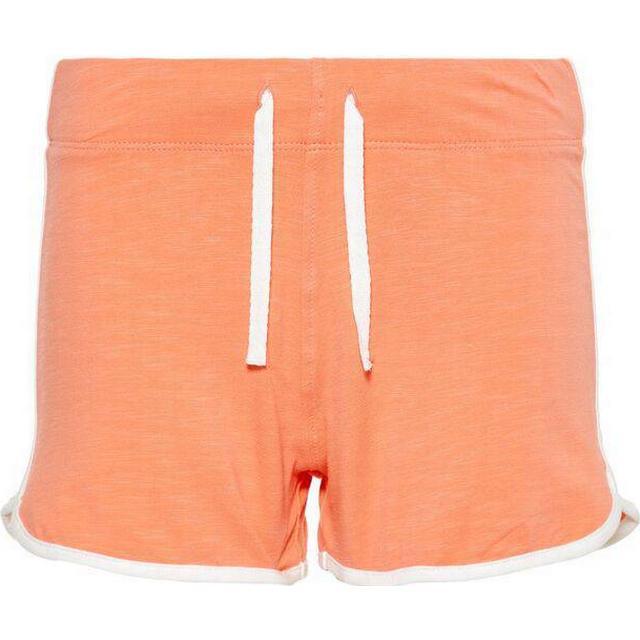 Name It Kid's Sporty Cotton Shorts - Orange/Fusion Coral (13168314)