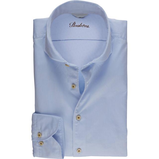 Stenströms Casual Slimline Shirt - Light Blue