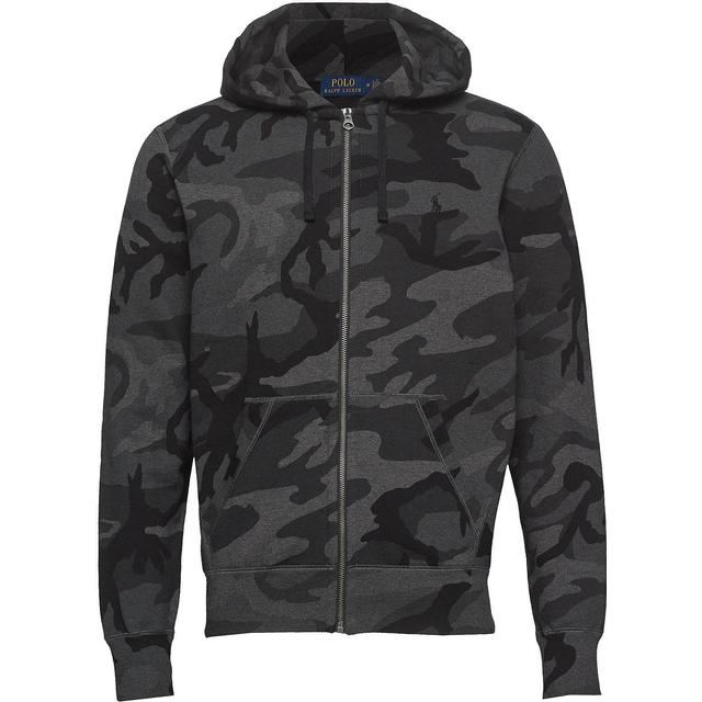 Polo Ralph Lauren Camo Cotton Blend Hoodie - Charcoal Rl Camo