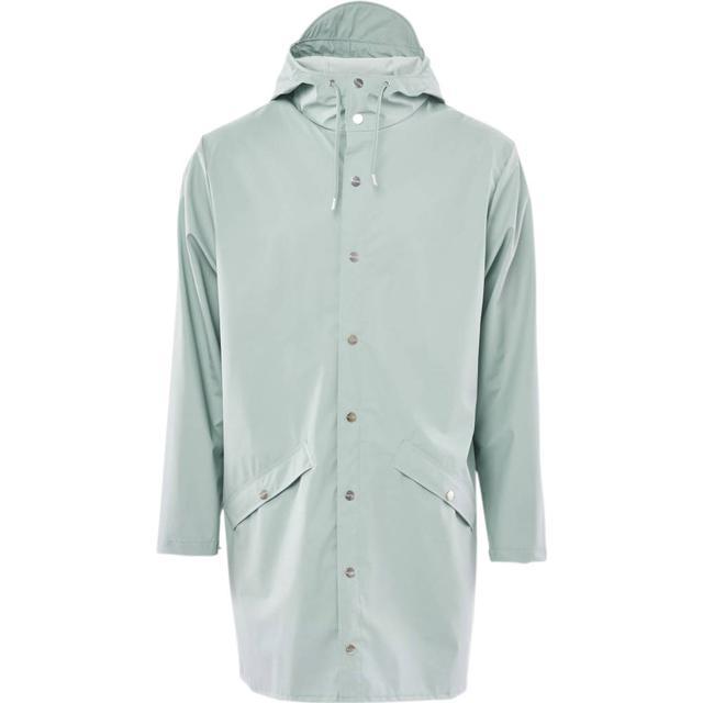 Rains Long Jacket - Dusty Mint
