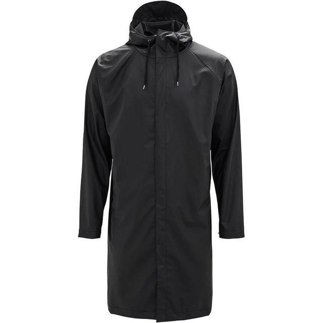 Rains Coat Unisex - Black