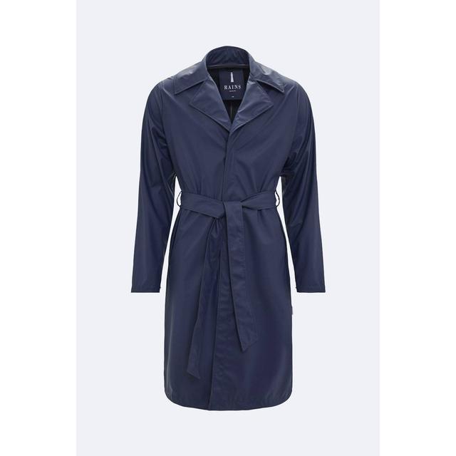 Rains Overcoat Unisex - Blue