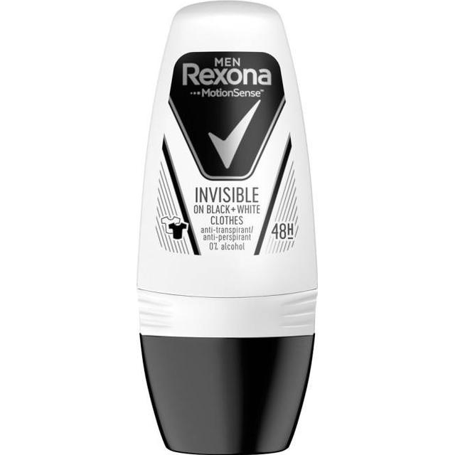 Rexona Men Invisible On Black + White Clothes Deo Roll-On 50ml