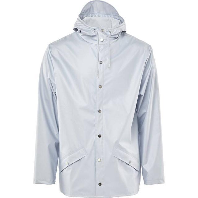 Rains Jacket - Metallic Ice Grey
