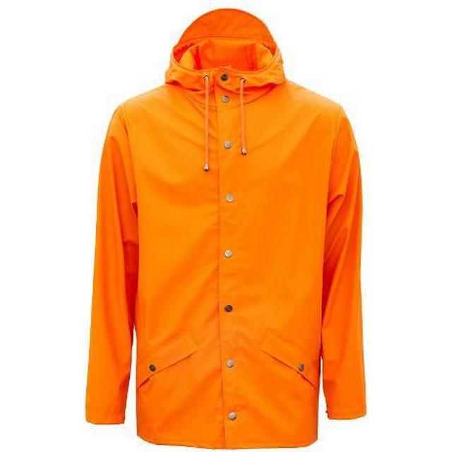 Rains Jacket - Fire Orange