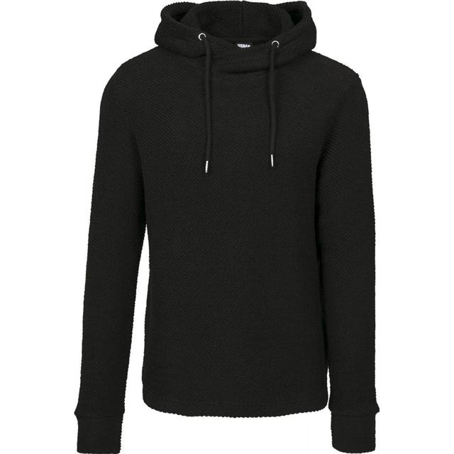 Urban Classics Loose Terry Inside Out Hoody - Black