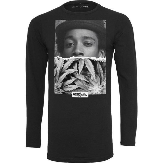 Mister Tee Wiz Khalifa Half Face T-shirt - Black