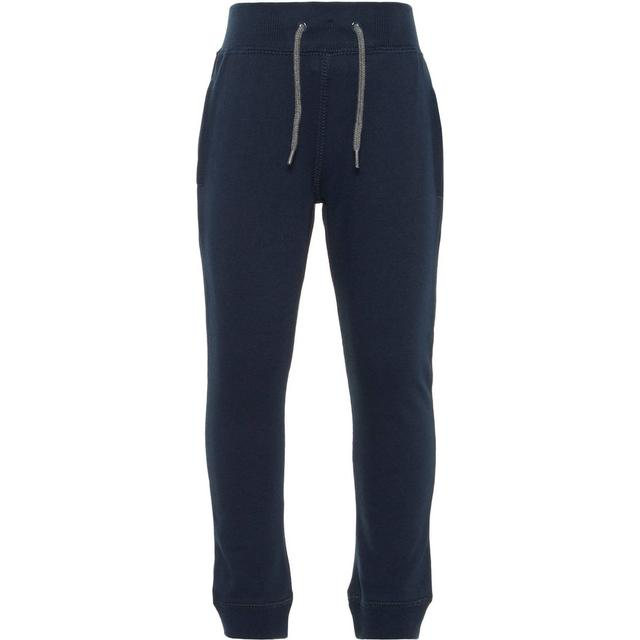 Name It Kid's Brushed Sweat Pants - Blue/Dark Sapphire (13153665)