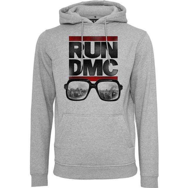 Mister Tee Run Dmc City Glasses Hoodie - Grey