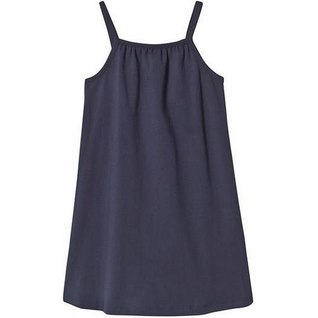 A Happy Brand Gathered Tank Dress - Navy (372587)