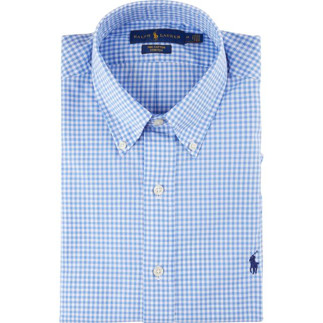 Polo Ralph Lauren Classic Fit Checked Shirt - Blue/White Check
