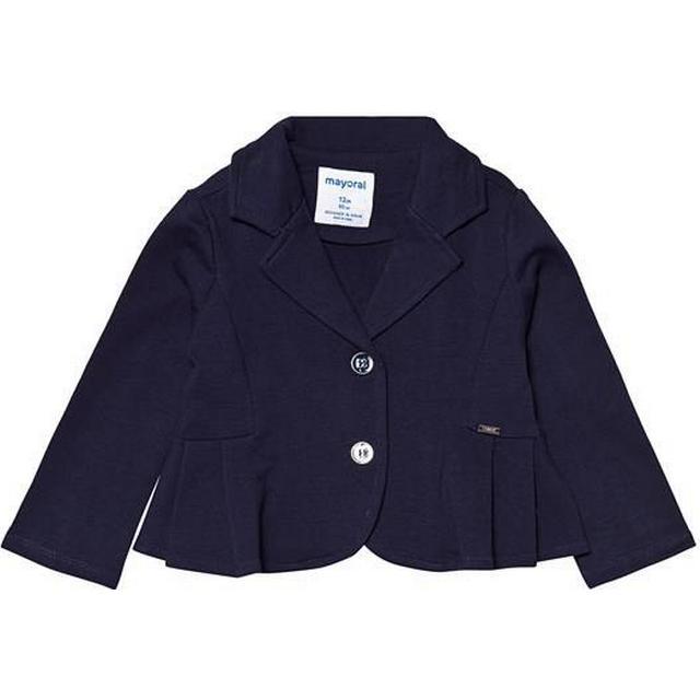 Mayoral Pleated Blazer - Navy Blue (29-01415-070)