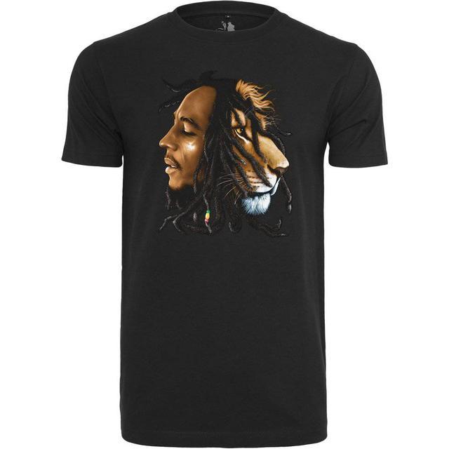 Mister Tee Bob Marley Lion T-shirt - Black