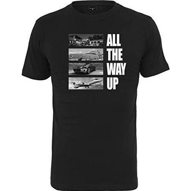 Mister Tee All The Way Up Stairway T-shirt - Black