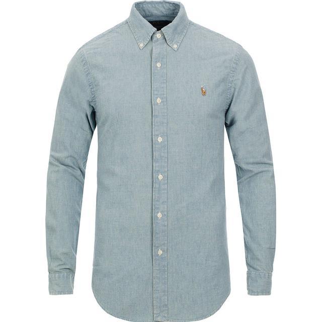 Polo Ralph Lauren Slim Fit Chambray Shirt - Medium Wash