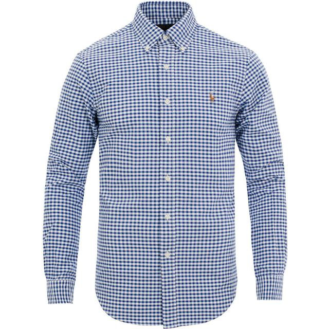 Polo Ralph Lauren Slim Fit Oxford Sport Shirt - BSR Royal/White