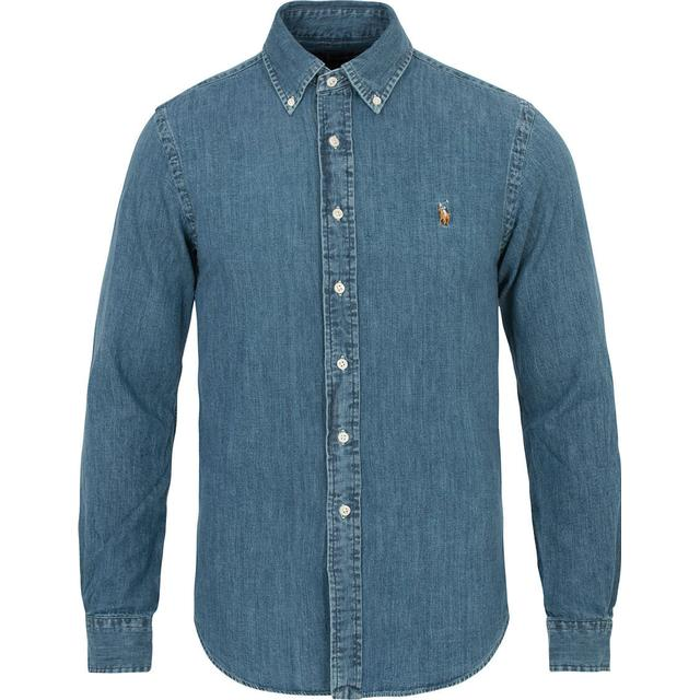 Polo Ralph Lauren Slim Fit Denim Sport Shirt - Dark Wash