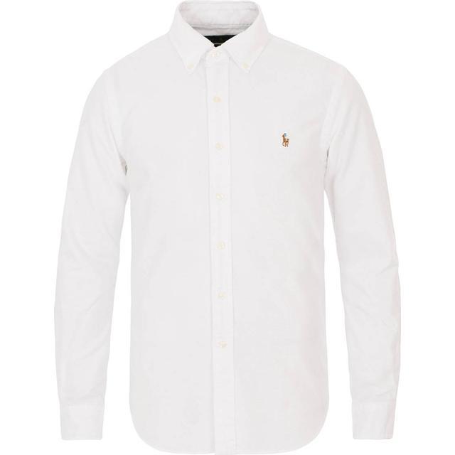 Polo Ralph Lauren Slim Fit Oxford Shirt - BSR White