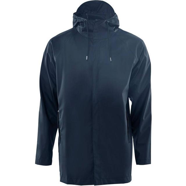 Rains Short Coat Unisex - Blue