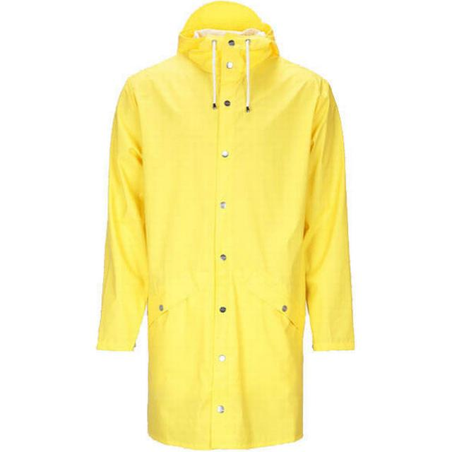 Rains Long Jacket Unisex - Yellow
