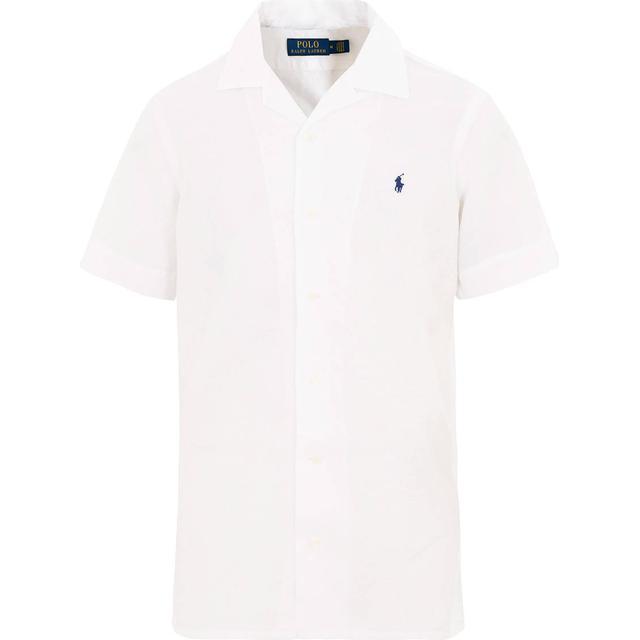 Polo Ralph Lauren Classic Fit Linen-Blend Shirt - White