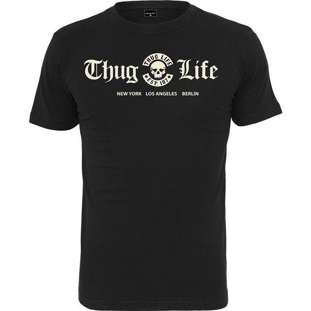 Mister Tee Thug Life Cities T-shirt - Black